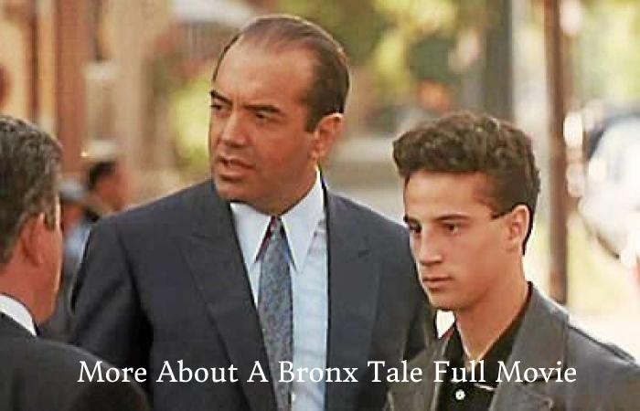 A Bronx Tale Full Movie