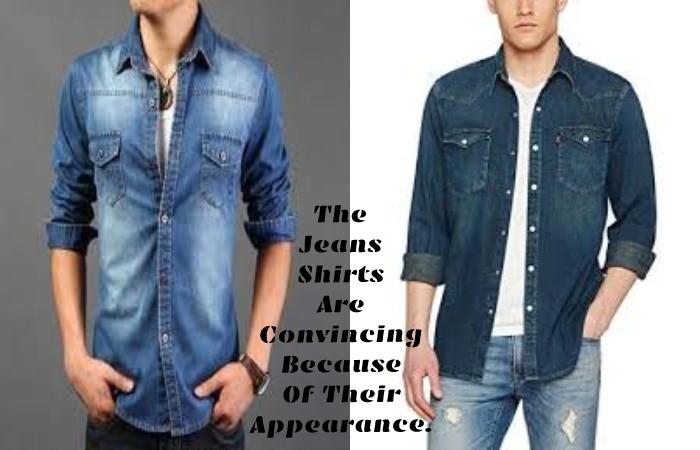 Jeans Shirt For Men (1)