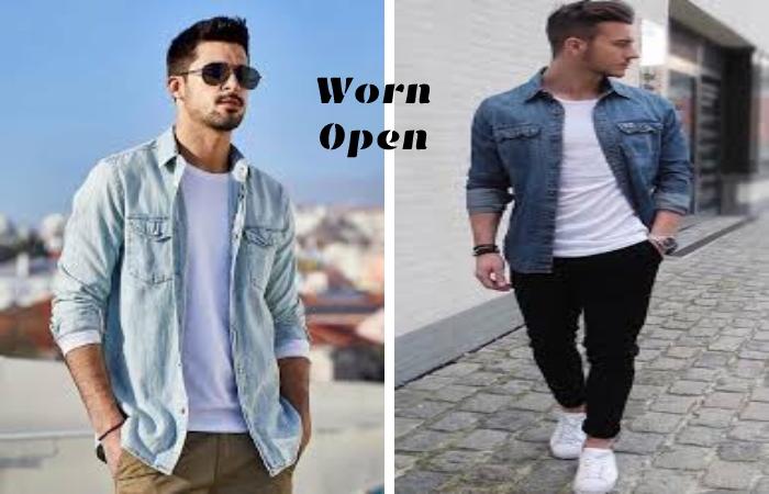 Jeans Shirt For Men (2)