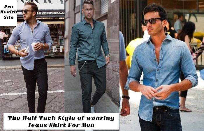 Jeans Shirt For Men (3)