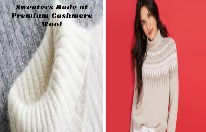 Sweaters Made of Premium Cashmere Wool