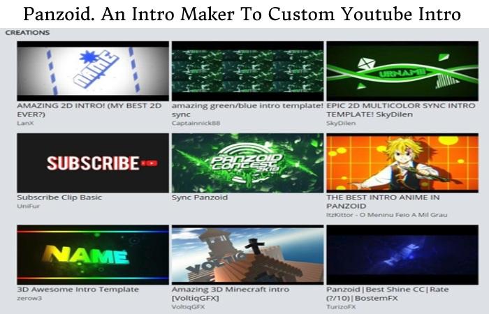 Custom Youtube Intro